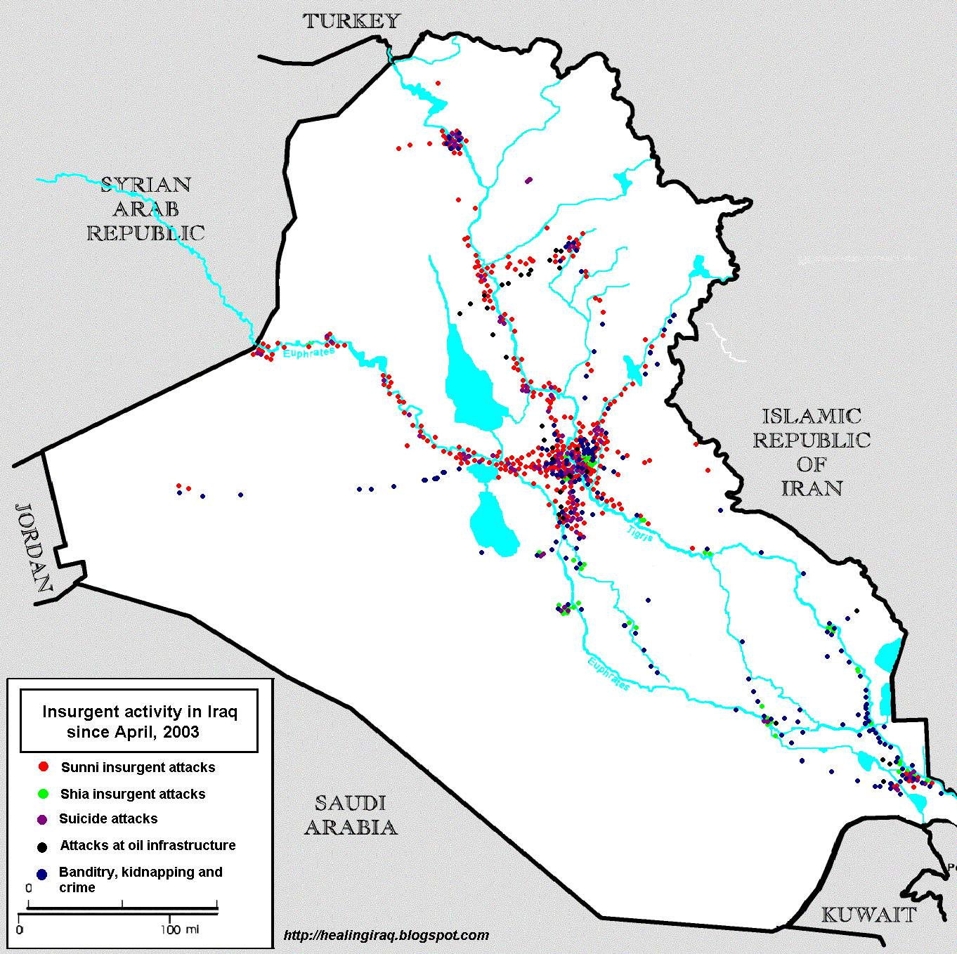 Violence in Iraq since April 9, 2003